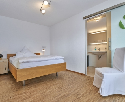 Juniorsuite of Hallwang Clinic Germany