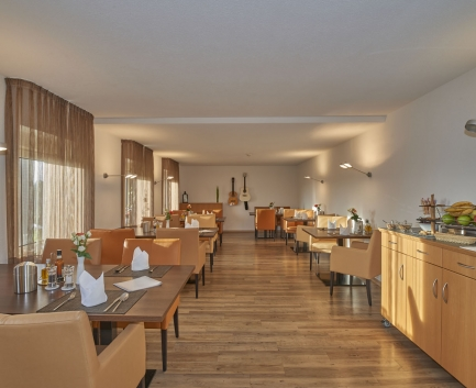 Restaurant of Hallwang Clinic Germany